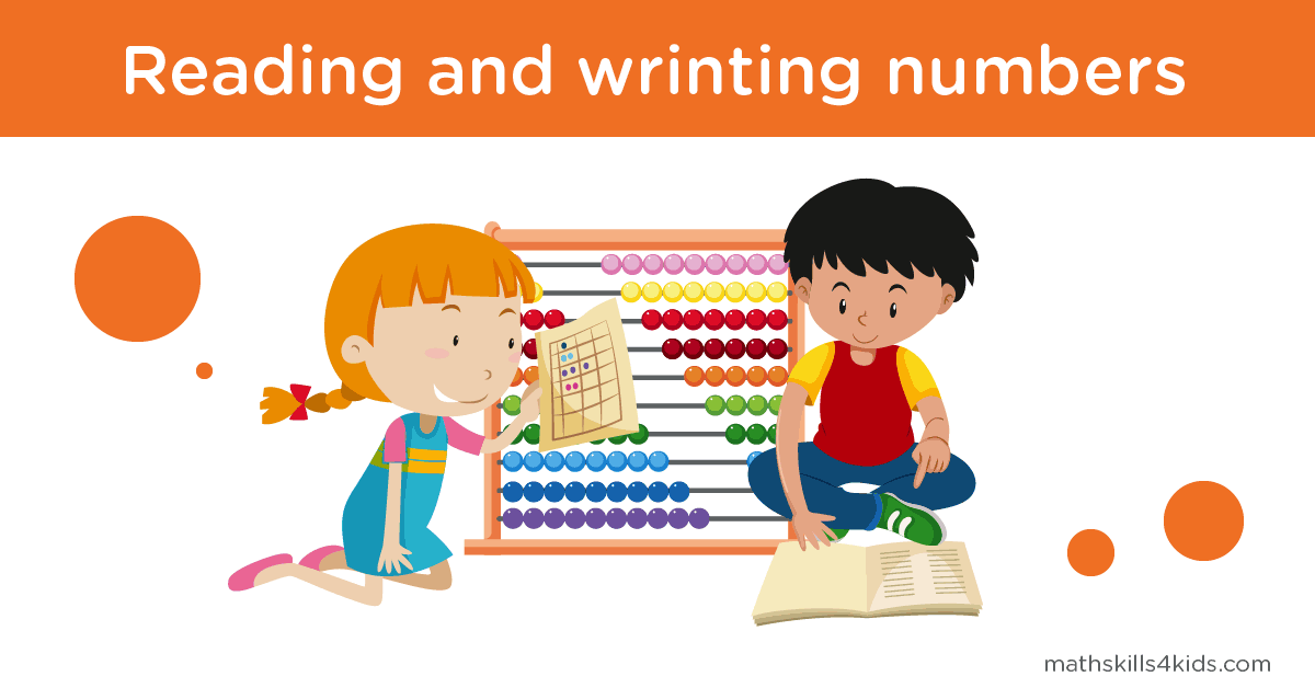 Reading and writing numbers in figures and in words - How to Read and Write Numbers
