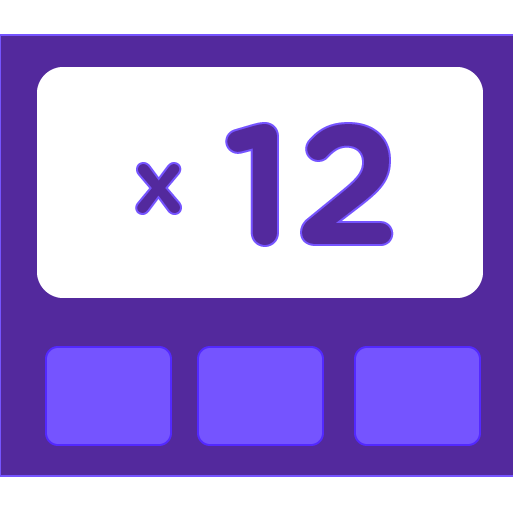 Learn how to multiply by 12 - Training activities