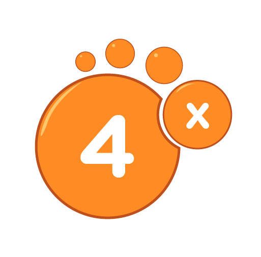 Learn how to multiply by 4 - Training activities