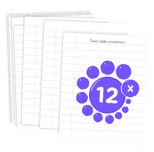 Multiplication printable - 12 times table worksheets