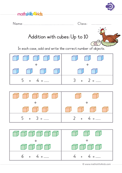 Basic Addition Worksheets For Grade 1 Addition Worksheets With Pictures Pdf