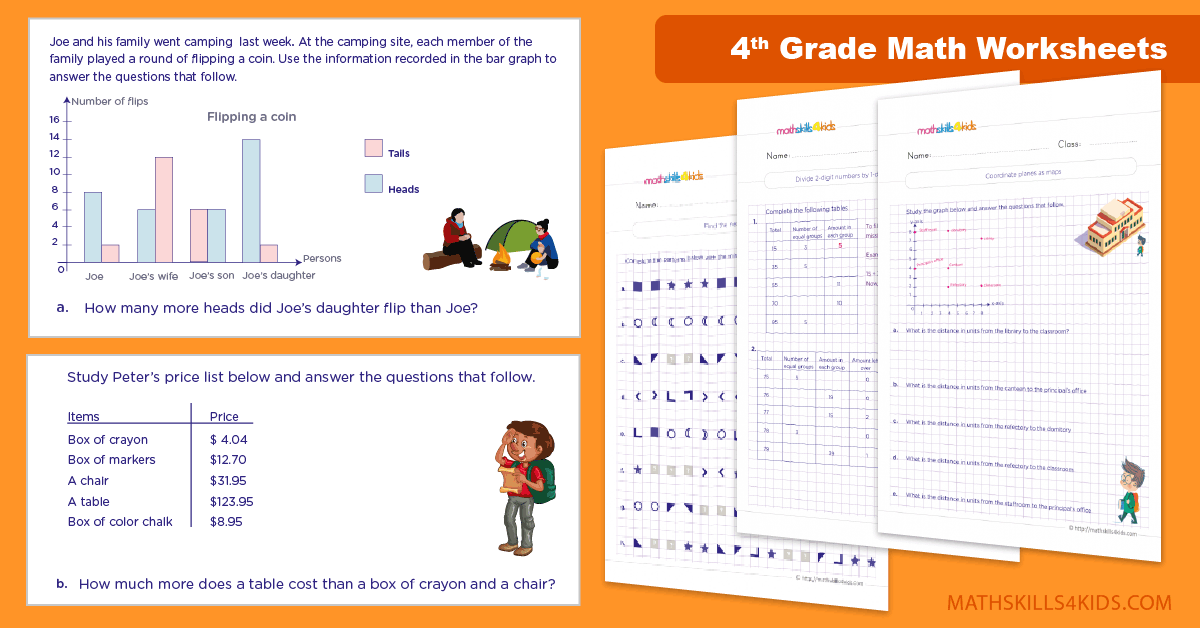 4th Grade Math Practice Games And Worksheets Pdf - Free 4th Grade Math  Worksheets