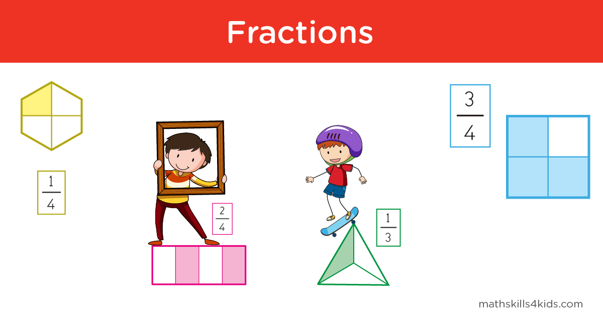 Fraction Practice - Fraction worksheets Games Word Problems