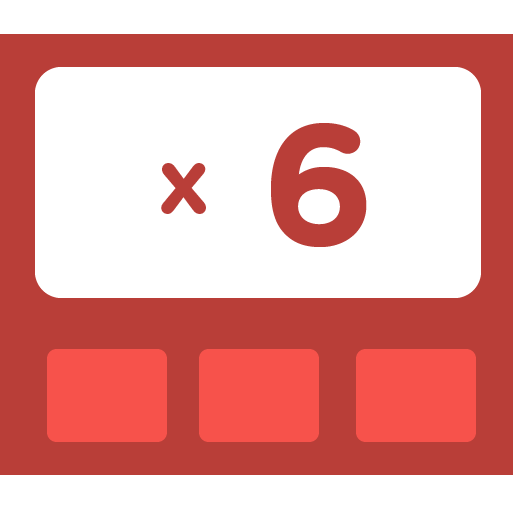 Learn how to multiply by 6 - Training activities