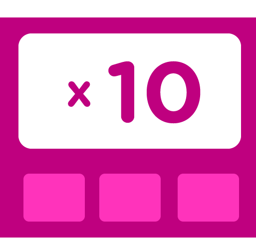 Learn how to multiply by 10 - Training activities