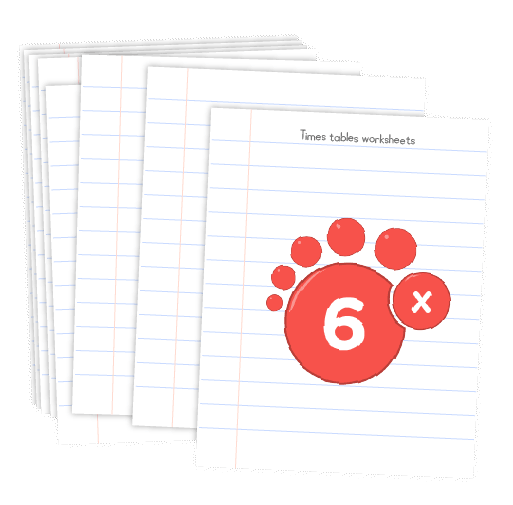 Multiplication printable - 6 times table worksheets