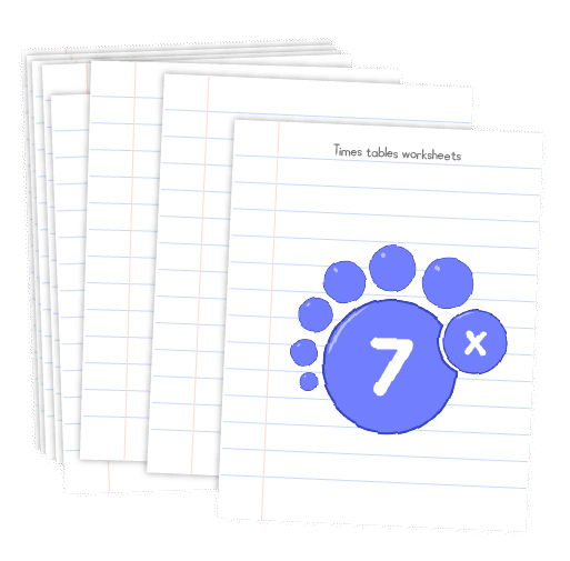 Multiplication printable - 7 times table worksheets
