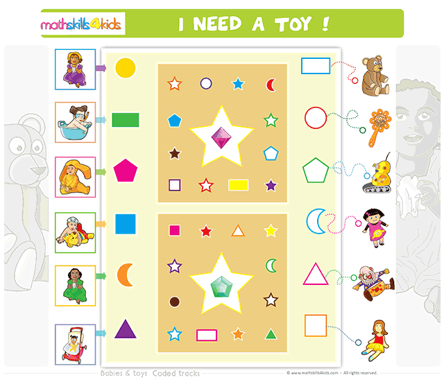 Babies and Toys coded tracks boardgame
