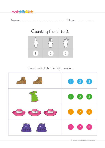 This is a photo of Preschool Maths Activities Printable within kindergarden