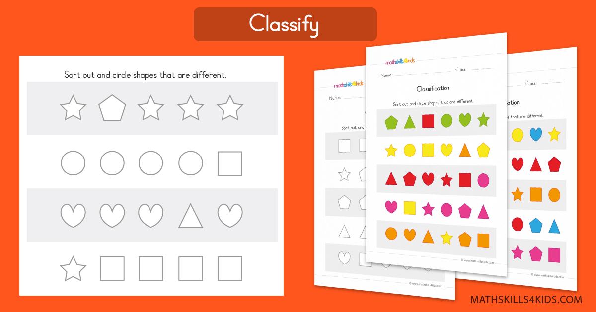 Preschool Math Worksheets PDF Prekinders Math Printables